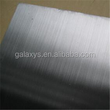 High quality hairline finish 304 stainless steel sheet price per kg