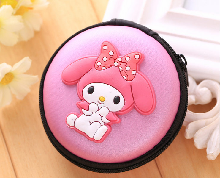 Fashion cute eco-friendly silicone wallets for coins Mini Coin wallets