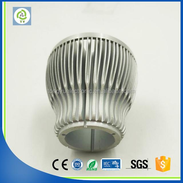 custom high power 200w pin fin led bulb cooling pipe heat sink