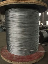 high tension galvanized/ steel wire rope