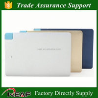 New slim portable battery charger power bank 3g wifi router with sim card slot with power bank credit card