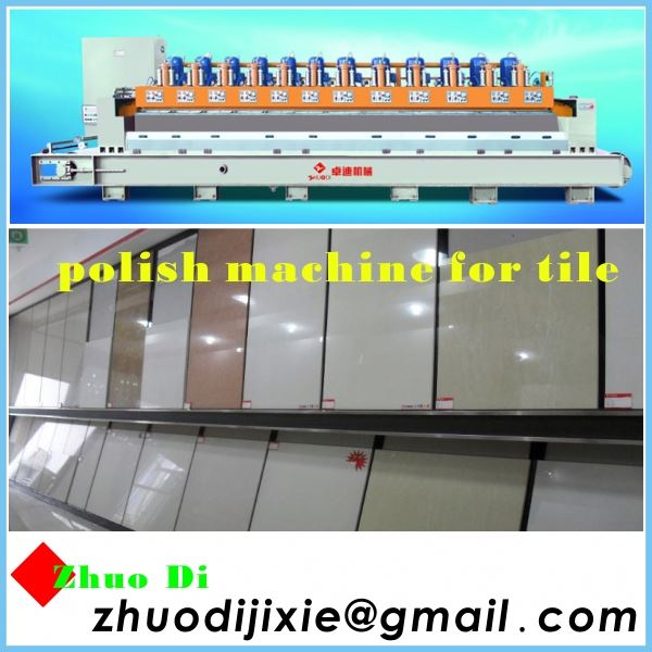 polish production line-polish stone coated metal roof tile machine