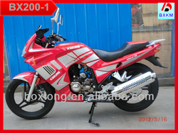 Best Selling Boxiong Model 200CC Racing Motorcycle For Sale