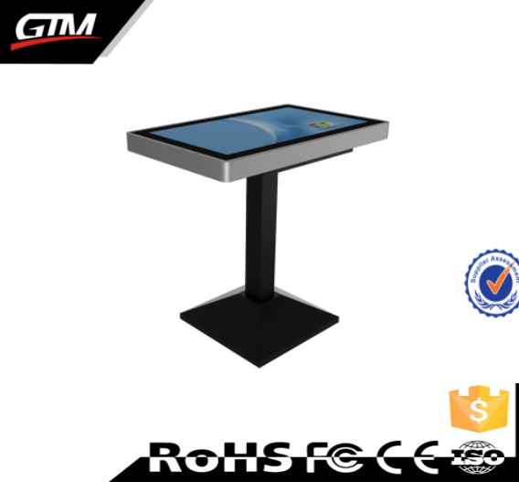 32 inch oem lcd touch screen smart table price touch wifi totem lcd display touch screen game/coffee table