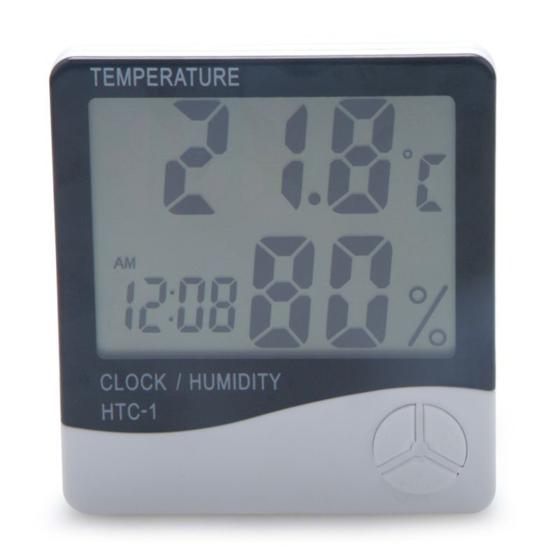 Household Items Small Digital Lcd Room Thermometer & Hygrometer