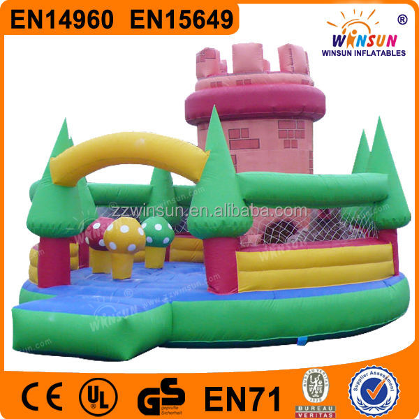 Inflatable outdoor fun city toys