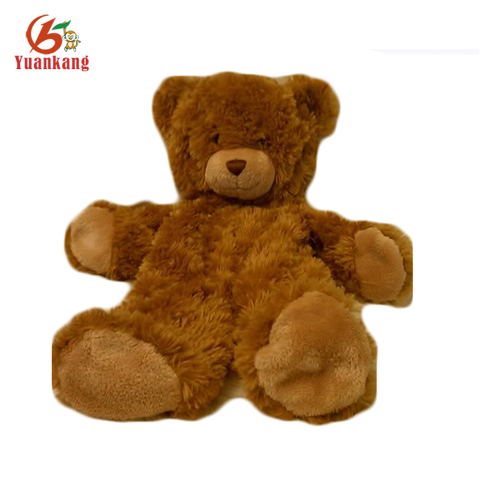 unstuffed bear skin low price factory china bear teddy