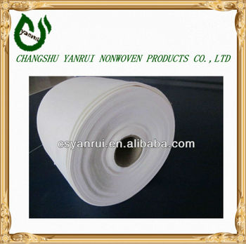 Rayon and polyester Non woven hospital absorbent pad