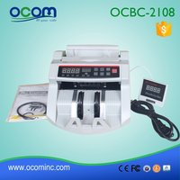 UV & MG detection digital bill counting machine for fake money