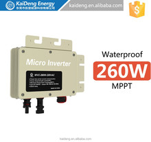 300W On Grid Tie Solar Micro Inverter IP 65 Waterproof with MPPT function