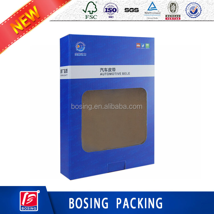 Custom Printing Automotive Bele Corrugated Packaging Box