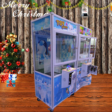 best price coin operated crazy toy vending machine claw crane machine