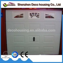 Economic and Efficient spanish style automatic garage door single panel side sectional doors