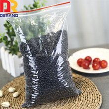 China suppliers food grade 100% LDPE raw material pe plastic zipper bag with FDA prroval