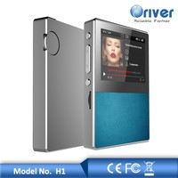 Oriver New Pocket hifi audio Player H1 mp3 mp4 music video
