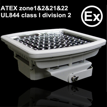ADC12 die cast aluminum ATEX UL844 90w explosion proof led light
