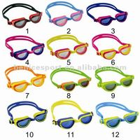 Silicone Swimming Goggles Fit For Children