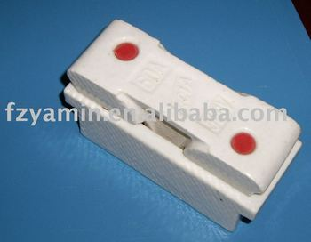 hot sale ceramic fuse unit RCIA Porcelain fuse unit porcelain fuse socket