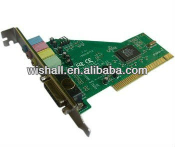 Best price of PCI Sound Card 4 channel with cmi8738 chipset