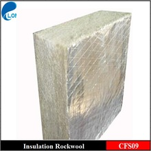 Aluminum foil backed rockwool insulation board for curtain wall