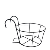 Outdoor Garden Metal Decorative Flower Pot Stand,Metal Flower Pot Holder