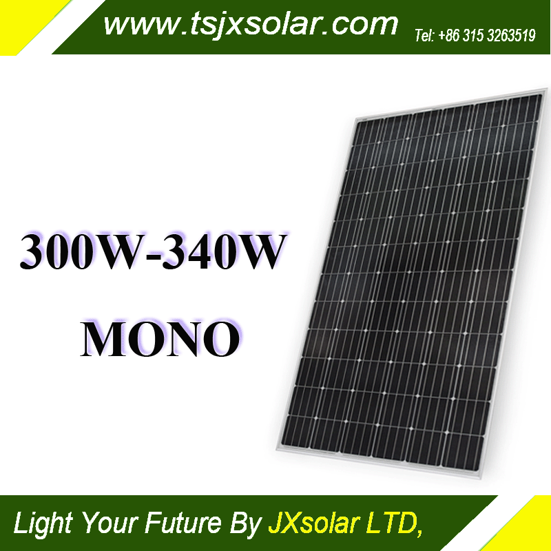 340watt monocrystalline cheapest price China supplier solar power residential photovoltaic module
