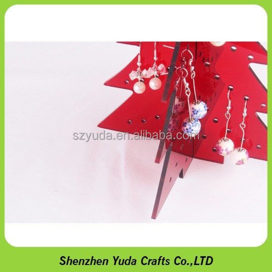 3D Acrylic christmas cone shape tree, indoor decoration xmas tree