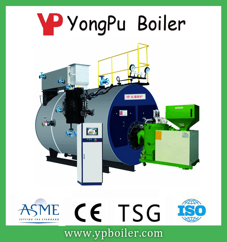 Full automatic biomass fired hot water boiler steam boiler replace coal diesel
