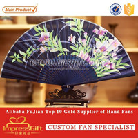 Japanese Folding Hand Silk Bamboo Fan
