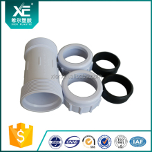 Easy Installation PVC Water Quick Fittings Adjustable Compression Coupling PVC Straight Coupling