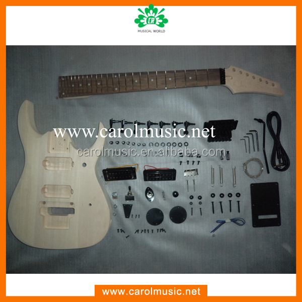 GK041china guitar 7 string guitar kit