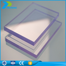 100%virgin material Clear/transparent polycarbonate solid sheet