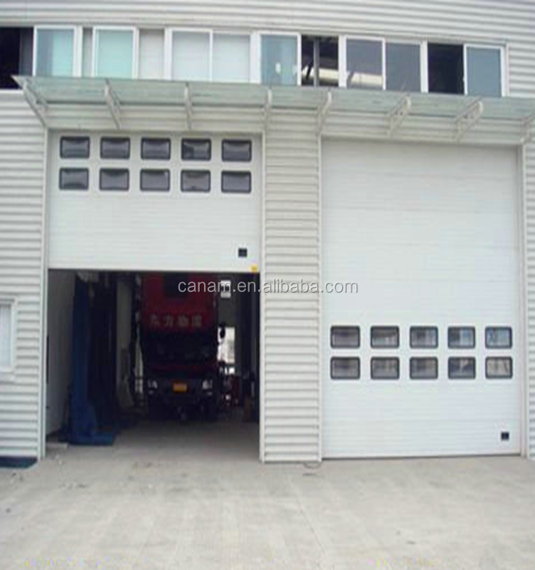 industrial insulated garage door with good quality