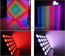 disco light dmx 25pcs 10w rgb led pixel matrix