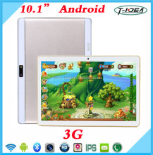 "2017 New Design 10"" 3G Tablet With 1280*800IPS Screen MTK6582 Quad Core With 16G Memory Android 5.1"