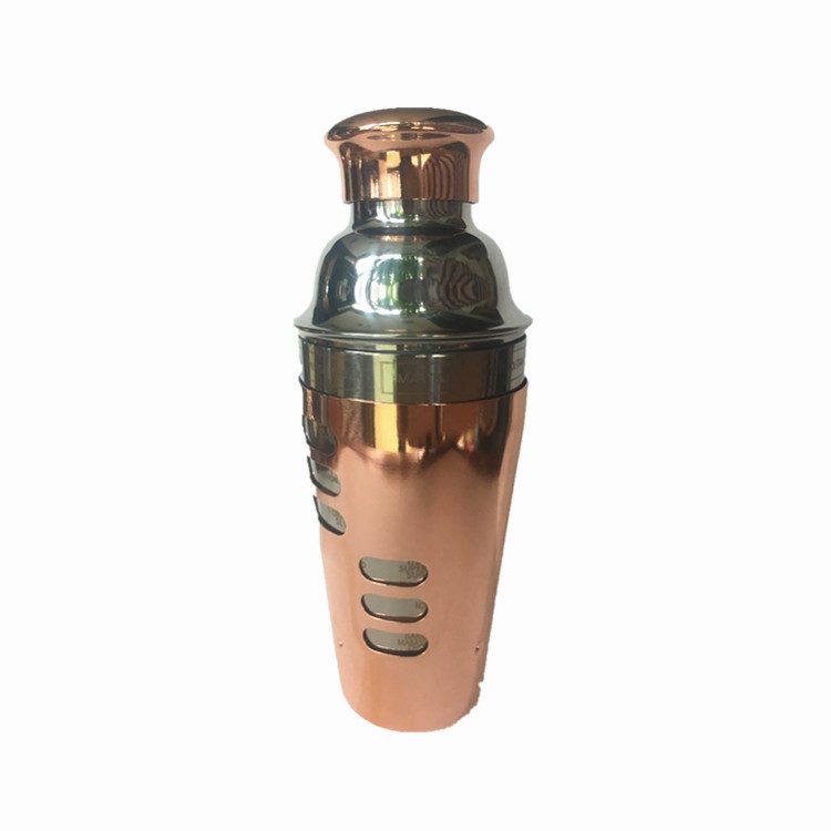 copper stainless steel shaker cup .boston cup