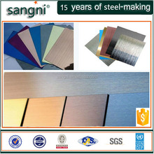 color stainless steel / Gold-Ti/ GOLD TITANIUM/ TITANIUM plate / sheet