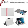 Shen zhen perfect Crazy Horse pu stand shell for iPad Pro Folding Stand Smart Case