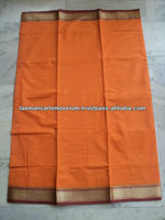 indian sarees cotton plain WITH BORDERS