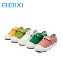 AIBIXI Wholesale Small Size Kids Footwear Soft Comfort Casual Canvas Shoes