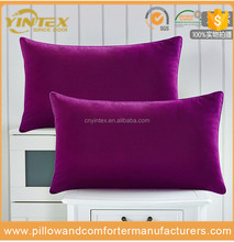 Supermarket wholesale Siliconized Ball Synthetic Polyester Fiber Pillow