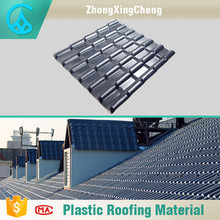 Excellent fireproof roofing materials gray flexible roof tiles