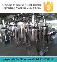 Medical use herbal essence extraction system in China