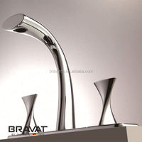 New design wall mounted bath shower mixer taps F54691C-1