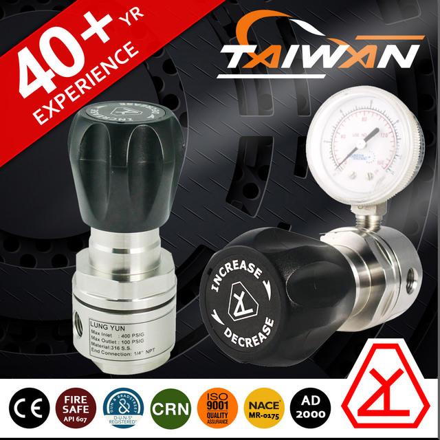 high pressure lpg gas regulator with air pressure meter