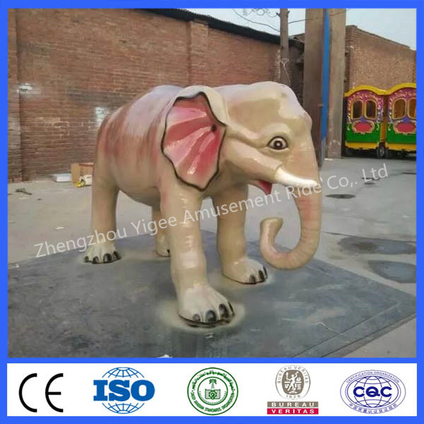 Different kinds of morden fiberglass animals sculpture for sale