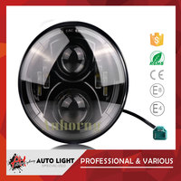 "2015 newest design led auto lights aluminum housting led headlight for off road vehicle 4X4 7"" 7inch Daytime Running Light"