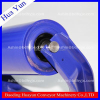 high quality sleeve(comb) roller conveyor idler,rubber roller