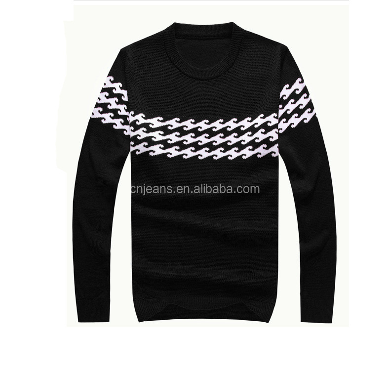 GZY -2016 Fashion and latest design for men cable knit sweater