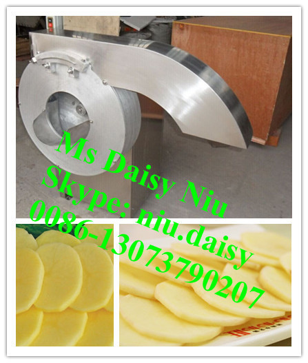 automatic sweet potato slicer machine/potato chips slicing machine/cassava slice cutting machine